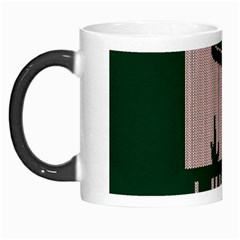 I Juan To Believe Ugly Holiday Christmas Green background Morph Mugs