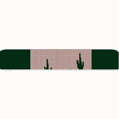 I Juan To Believe Ugly Holiday Christmas Green background Small Bar Mats