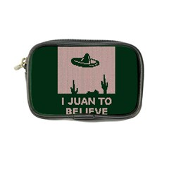 I Juan To Believe Ugly Holiday Christmas Green background Coin Purse