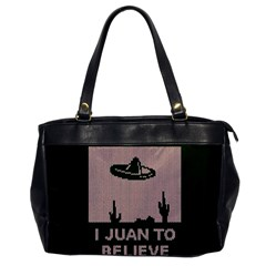I Juan To Believe Ugly Holiday Christmas Green background Office Handbags