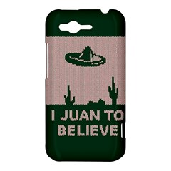 I Juan To Believe Ugly Holiday Christmas Green background HTC Rhyme
