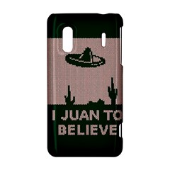 I Juan To Believe Ugly Holiday Christmas Green background HTC Evo Design 4G/ Hero S Hardshell Case