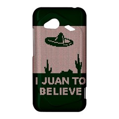 I Juan To Believe Ugly Holiday Christmas Green background HTC Droid Incredible 4G LTE Hardshell Case