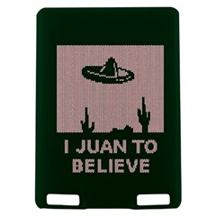 I Juan To Believe Ugly Holiday Christmas Green background Kindle Touch 3G