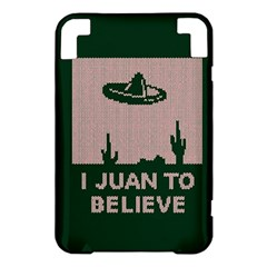 I Juan To Believe Ugly Holiday Christmas Green background Kindle 3 Keyboard 3G
