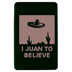I Juan To Believe Ugly Holiday Christmas Green background Kindle Fire (1st Gen) Hardshell Case