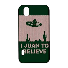 I Juan To Believe Ugly Holiday Christmas Green background LG Optimus P970