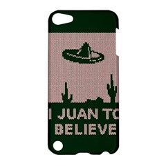 I Juan To Believe Ugly Holiday Christmas Green background Apple iPod Touch 5 Hardshell Case