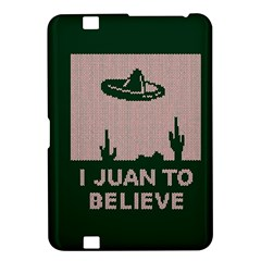 I Juan To Believe Ugly Holiday Christmas Green background Kindle Fire HD 8.9