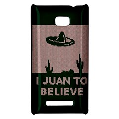I Juan To Believe Ugly Holiday Christmas Green background HTC 8X