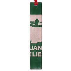 I Juan To Believe Ugly Holiday Christmas Green Background Large Book Marks