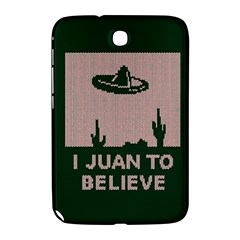 I Juan To Believe Ugly Holiday Christmas Green background Samsung Galaxy Note 8.0 N5100 Hardshell Case