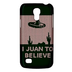 I Juan To Believe Ugly Holiday Christmas Green background Galaxy S4 Mini