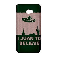 I Juan To Believe Ugly Holiday Christmas Green background HTC Butterfly S/HTC 9060 Hardshell Case