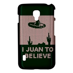 I Juan To Believe Ugly Holiday Christmas Green background LG Optimus L7 II