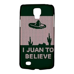 I Juan To Believe Ugly Holiday Christmas Green background Galaxy S4 Active