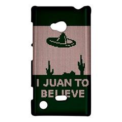 I Juan To Believe Ugly Holiday Christmas Green background Nokia Lumia 720