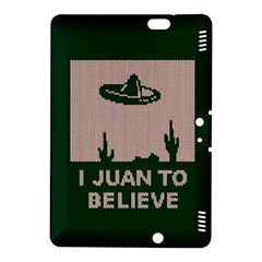I Juan To Believe Ugly Holiday Christmas Green background Kindle Fire HDX 8.9  Hardshell Case