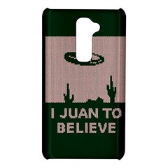 I Juan To Believe Ugly Holiday Christmas Green background LG G2
