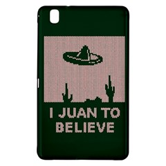 I Juan To Believe Ugly Holiday Christmas Green background Samsung Galaxy Tab Pro 8.4 Hardshell Case