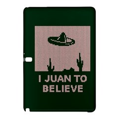 I Juan To Believe Ugly Holiday Christmas Green background Samsung Galaxy Tab Pro 12.2 Hardshell Case