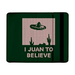 I Juan To Believe Ugly Holiday Christmas Green background Samsung Galaxy Tab Pro 8.4  Flip Case
