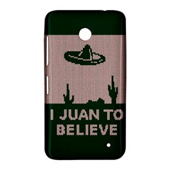 I Juan To Believe Ugly Holiday Christmas Green background Nokia Lumia 630