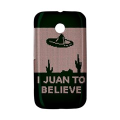 I Juan To Believe Ugly Holiday Christmas Green background Motorola Moto E