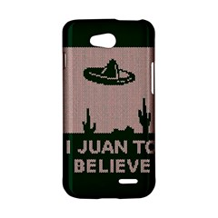 I Juan To Believe Ugly Holiday Christmas Green background LG L90 D410