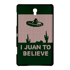 I Juan To Believe Ugly Holiday Christmas Green background Samsung Galaxy Tab S (8.4 ) Hardshell Case
