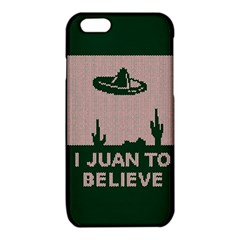 I Juan To Believe Ugly Holiday Christmas Green background iPhone 6/6S TPU Case