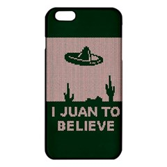 I Juan To Believe Ugly Holiday Christmas Green background iPhone 6 Plus/6S Plus TPU Case