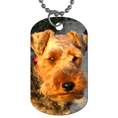 Welch Terrier Dog Tag (One Side)
