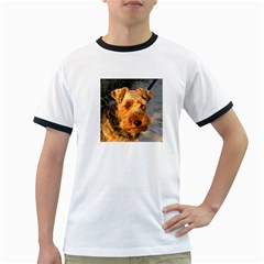 Welch Terrier Ringer T-Shirts