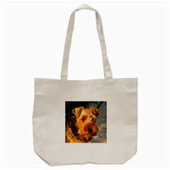 Welch Terrier Tote Bag (Cream)