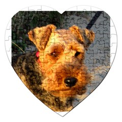 Welch Terrier Jigsaw Puzzle (Heart)