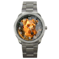 Welch Terrier Sport Metal Watch