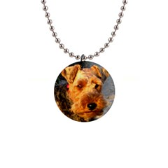 Welch Terrier Button Necklaces