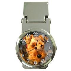 Welch Terrier Money Clip Watches