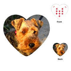 Welch Terrier Playing Cards (Heart)