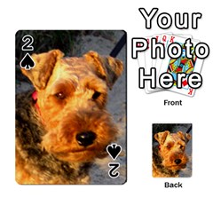 Welch Terrier Playing Cards 54 Designs