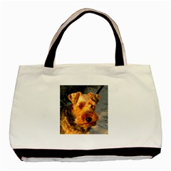 Welch Terrier Basic Tote Bag