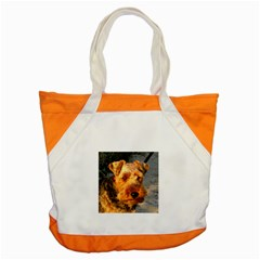 Welch Terrier Accent Tote Bag