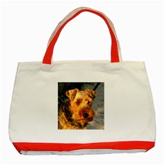 Welch Terrier Classic Tote Bag (Red)