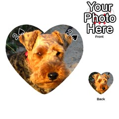 Welch Terrier Playing Cards 54 (Heart)