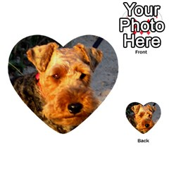 Welch Terrier Multi-purpose Cards (Heart)