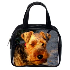 Welch Terrier Classic Handbags (One Side)