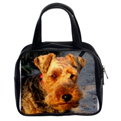Welch Terrier Classic Handbags (2 Sides)