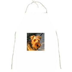 Welch Terrier Full Print Aprons