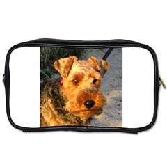 Welch Terrier Toiletries Bags